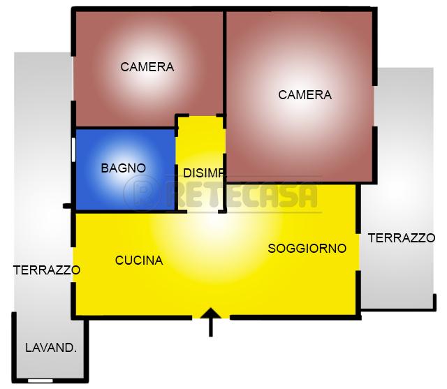 Appartamento in vendita a San Giovanni Teatino, 3 locali, prezzo € 125.000 | PortaleAgenzieImmobiliari.it