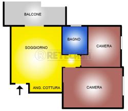 Appartamento in Vendita a Santa Marinella, 125'000€,