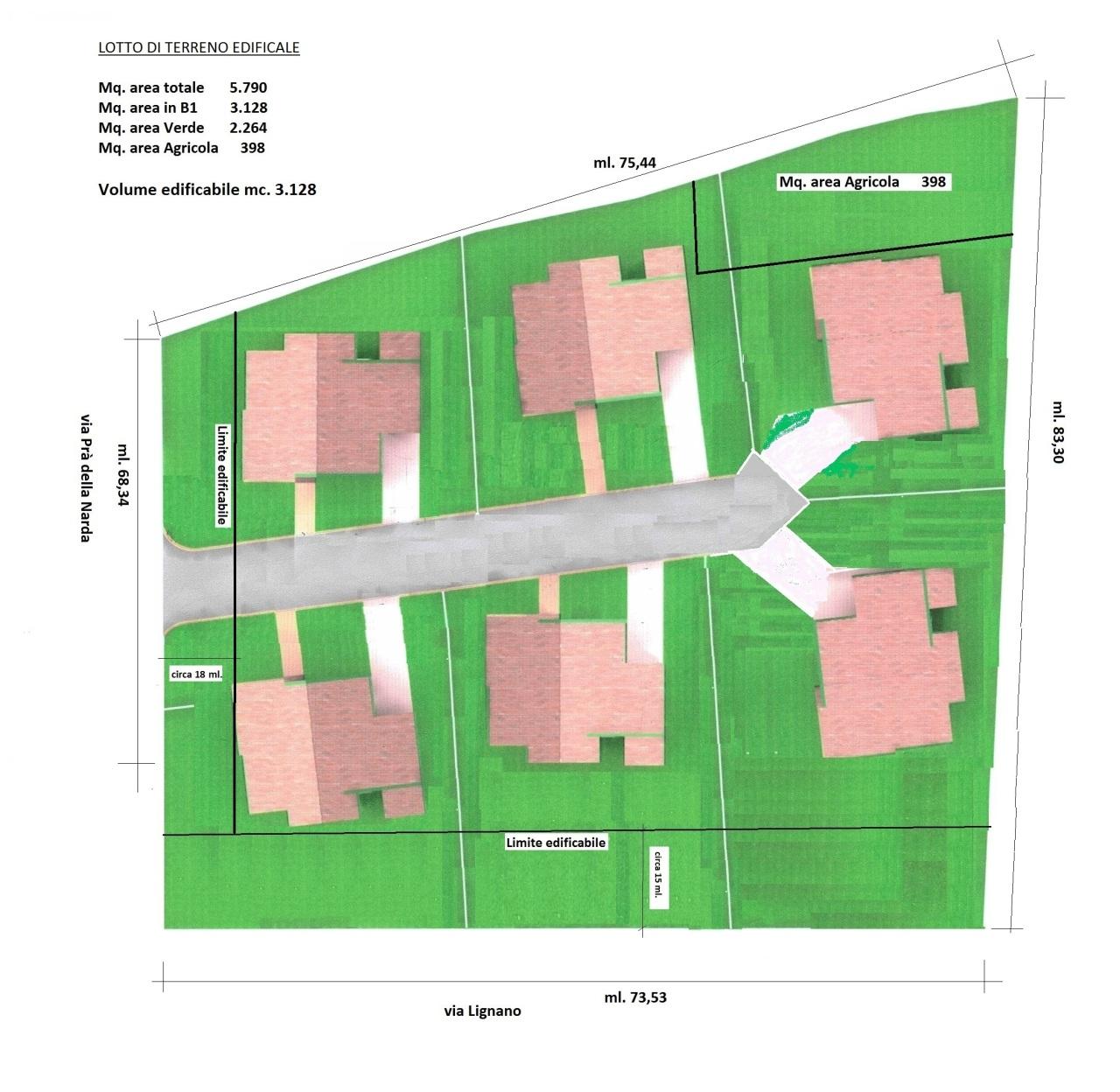 Terreno Edificabile Residenziale in vendita a Precenicco, 1 locali, prezzo € 110.000 | CambioCasa.it