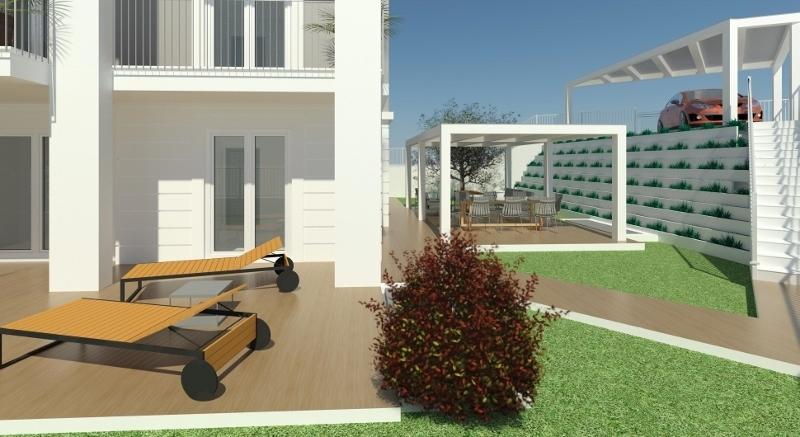 Appartamento - piano terra con giardino a Prima collina, Grottammare