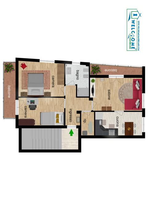 Appartamento - Trivano a Musicisti, Quartu Sant'Elena