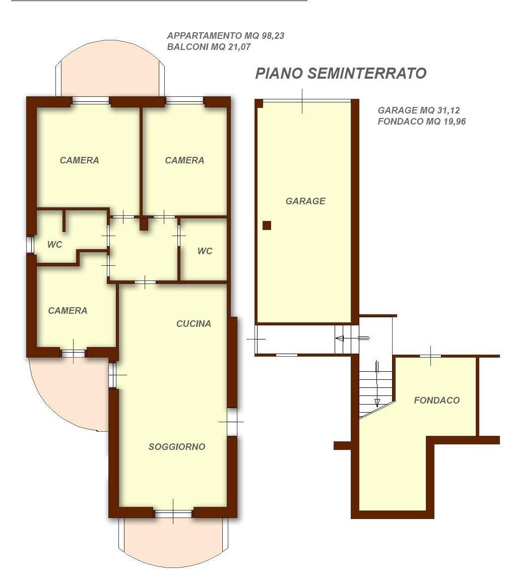 Appartamento in vendita Rif. 4154544