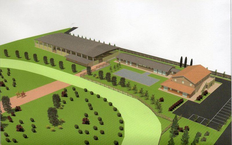 Maneggio - Centro Equestre a Montefiore dell'Aso Rif. 4145272