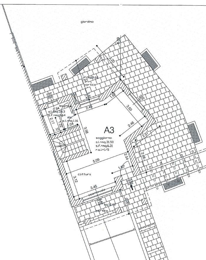 Soluzione Semindipendente in vendita a Castrezzato, 7 locali, prezzo € 249.000 | CambioCasa.it