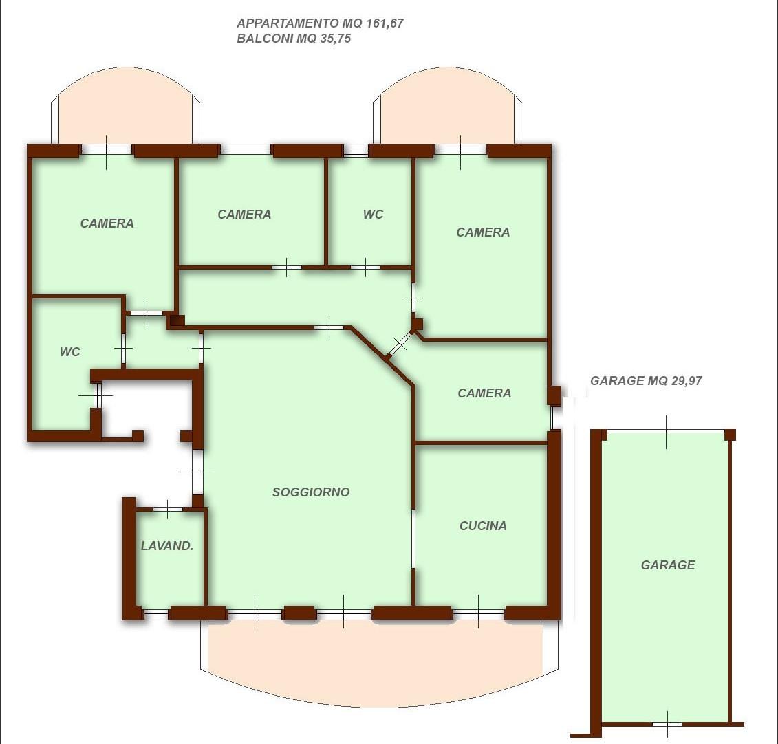 Appartamento in vendita Rif. 4154545