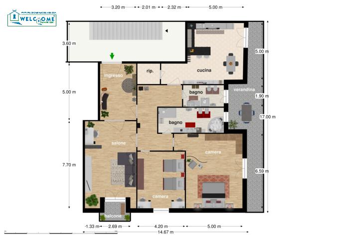 Appartamento - Trivano a Quartucciu